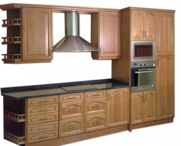 Cocina grande madera