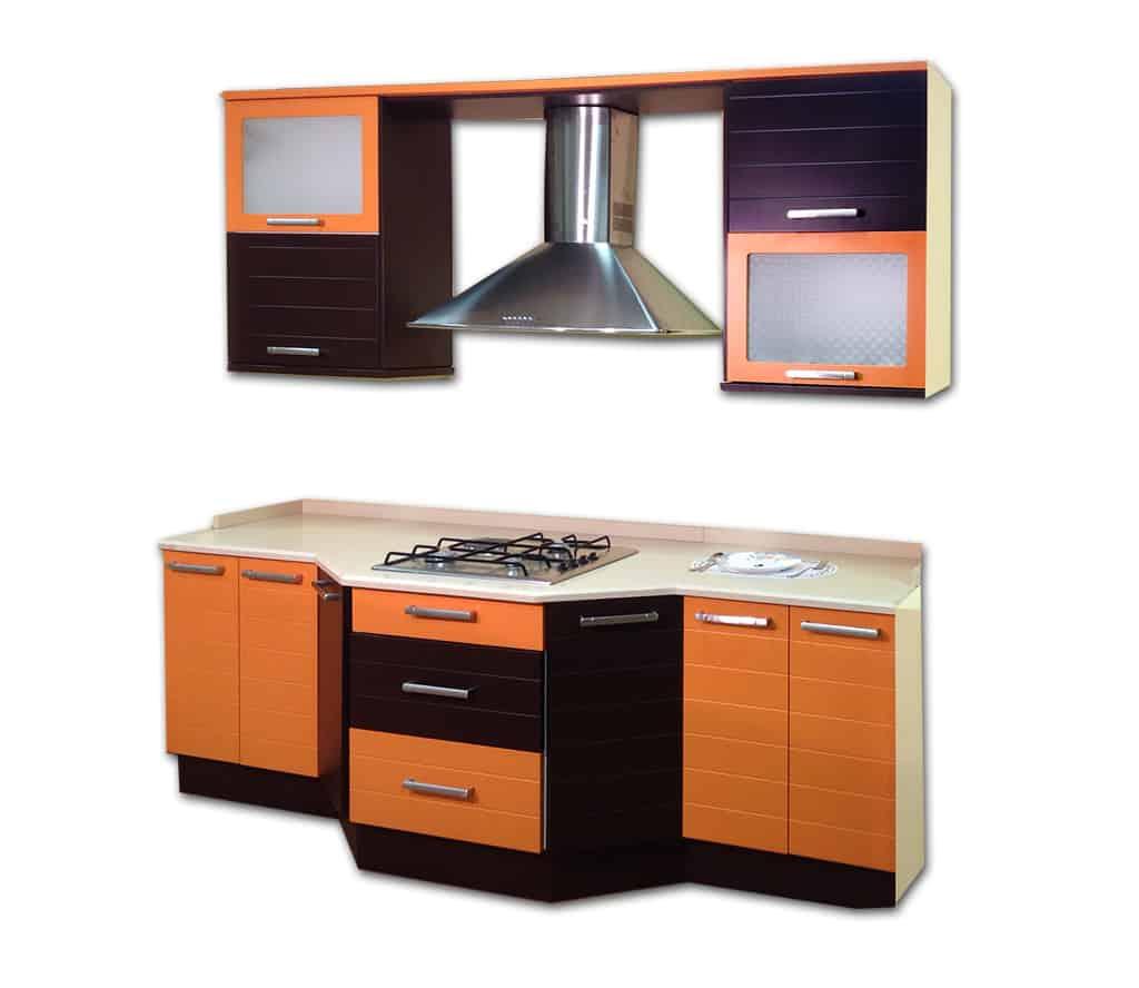 Cocina naranja muebles de cocina lora cocinas baratas for Muebles de cocina toledo