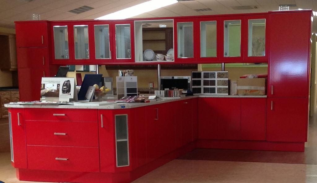 Muebles Cocina Color Rojo : Muebles de melamina para cocina color rojo azarak