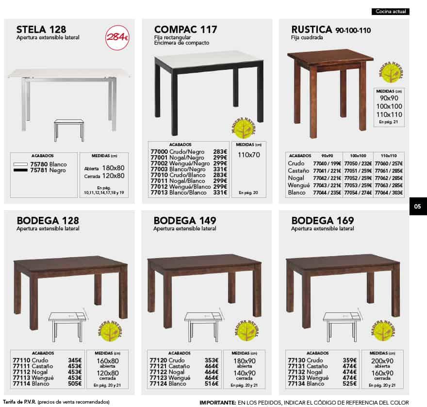 CATALOGO-pag5   Muebles de Cocina Lora. Cocinas baratas para Toledo ...